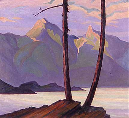 BC Coast&nbsp;Oil on Canvas 24&quot; x 24&quot;, 1928<br/>Private Collection, Vancouver, Canada