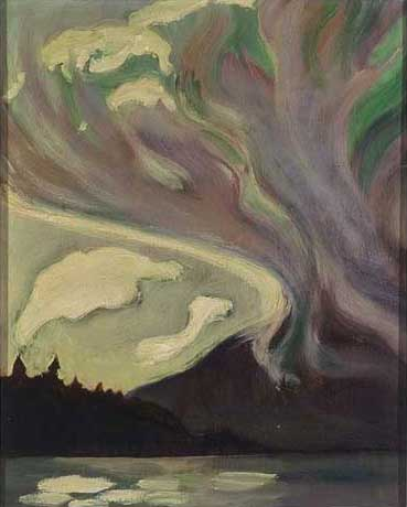 Untitled&nbsp;Oil on Veneer 15.25&quot; x 13.5&quot;, 1929<br/>Private Collection, Vancouver Island, Canada